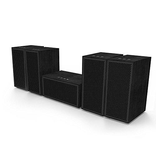 Multiroom Audio System - 5 Speaker Package - Includes 1 Master Speaker + 4 Satellite Speakers