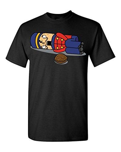 Tchaikovsky Nutcracker Christmas T-Shirt #17500 Funny Xmas Shirts X-Large Black