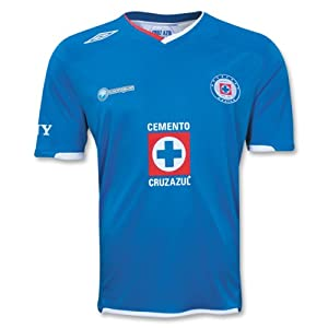 UMBRO Cruz Azul Home Jersey 09/10