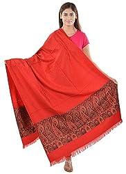 JAPROZ Women's Shawl (Red)