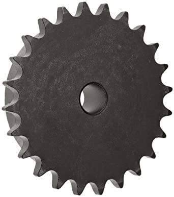 "Martin Roller Chain Sprocket, Reboreable, Type B Hub, Single Strand, 40 Chain Size, 0.5"" Pitch, 15 Teeth, 0.5"" Bore Dia., 2.652"" OD, 3.5"" Hub Dia., 0.284"" Width"