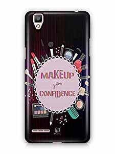 YuBingo Make Up Your Confidence Designer Mobile Case Back Cover for Oppo F1