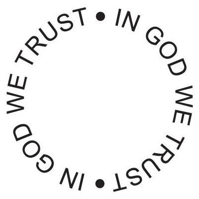 6 Pack STAMP IN GOD WE TRUST CIRCLE Papercraft, Scrapbooking (Source Book)