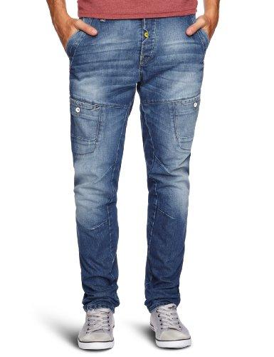 Voi Jeans Winton Loose Men's Jeans Blue W34INxL32IN