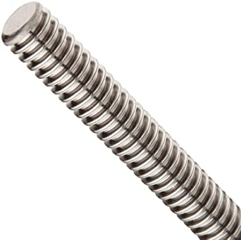 THK Lead Screw Shaft Model CS14, 14mm Outer Diameter x 500mm Length, 3mm Lead (Pack of 5)