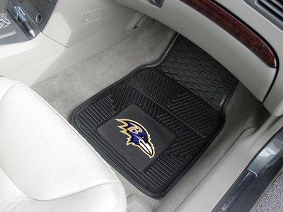 Fanmats Nfl Automotive Mats - Baltimore Ravens, 2-Pc. Set