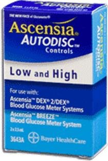 Image of Ascensia Blood Glucose Meters Hi Control Solution (B008UU1SUI)