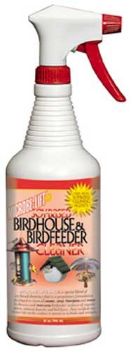 32oz. Bird House/Bird Feeder. Cleaner - Natural Soy-based