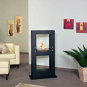 hark design kamins ule fuego 7 ethanol design standkamin amazon. Black Bedroom Furniture Sets. Home Design Ideas