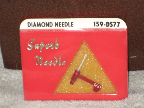 Pfanstiehl 159-Ds77 Diamond Phonograph Record Player Needle N42-Sd, 871Ds, =Ev-2118Ds, Ac305, P-N42-Ds, A90Xsd, A2-5073Ds, 546Sd, W135Stds1. Replaces Astatic N-42, N42D. Fits Astatic 17, 17D, 17Da, 135Da, 217D