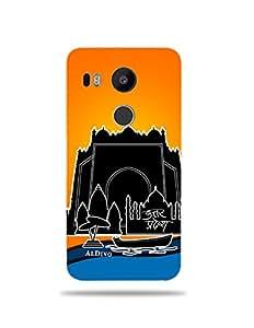 alDivo Premium Quality Printed Mobile Back Cover For LG Google Nexus 5X / LG Google Nexus 5X Back Case Cover (MKD1025)