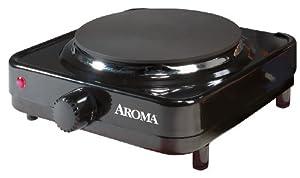 Aroma AHP-303/CHP-303 Single Hot Plate, Black