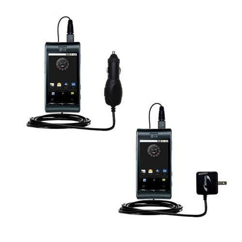 Car & Home Charger Kit compatible with the LG Optimus S