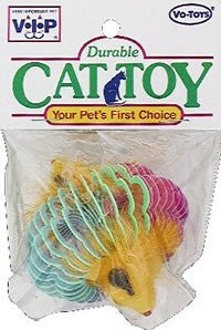 Vo-Toys Mice n Coils Cat Toy