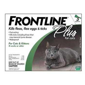 Frontline Cat Plus (all Sizes) 3pk frontline