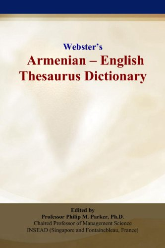 Websters Armenian - English Thesaurus Dictionary