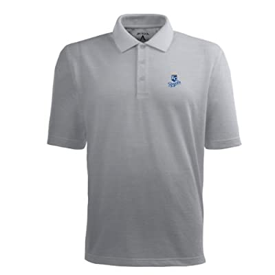 MLB Men's Kansas City Royals Pique Xtra Lite Desert Dry Polo