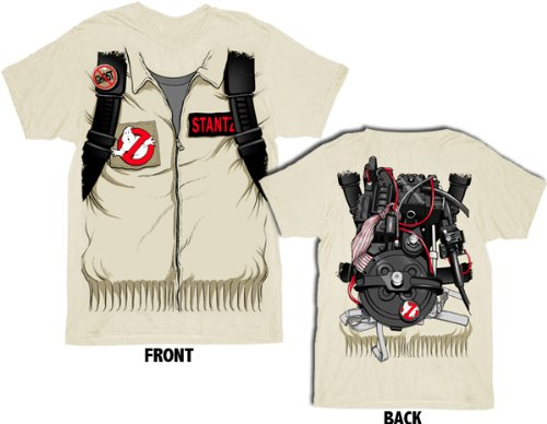 Ghostbusters Executioner Stantz Full Costume with Backpack Adult T-shirt