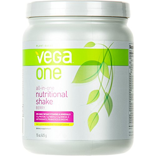 Vega Nutritional Shake Berry, 30Oz - Men'S front-638389
