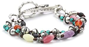 Lucky Brand Silver-Tone Frida Clip Bracelet, 7.5
