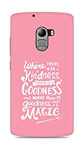 AMEZ where there is kindness there is goodness Back Cover For Lenovo K4 Note