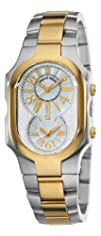Philip Stein Unisex 2TG-MWG-SSTG Signature Two-Tone Gold