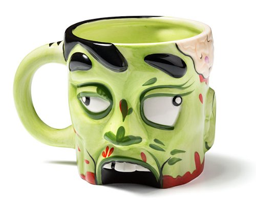 Ceramic Zombie Coffee Mug