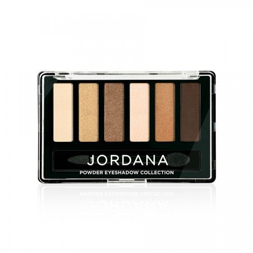 (6 Pack) JORDANA Made To Last Powder Eyeshadow Collection - Dusk Til Bronze