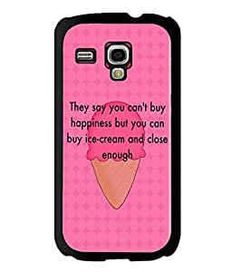 Fuson 2D Printed Quotes Designer back case cover for Samsung Galaxy S3 Mini - D4583