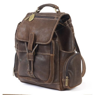 B004L14O8S Claire Chase Uptown Back Pack, Distressed Brown, One Size