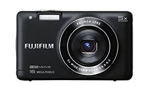 Fujifilm FinePix JX660 16 MP Digital Camera with 3.0-Inch LCD (Black) (Certified Refurbished)