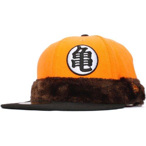 サイズ:7 1/8 Dragon Ball×New Era Cap ドラゴンボール×ニューエラ 5950キャップ ツートンボディ 亀(カメ)マーク シッポ オレンジポプシクル ブラック ライトオレンジ