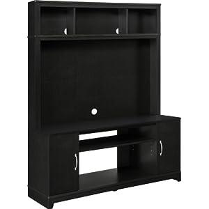 Altra Furniture Woodland Home Entertainment Console/TV Stand, Espresso Finish
