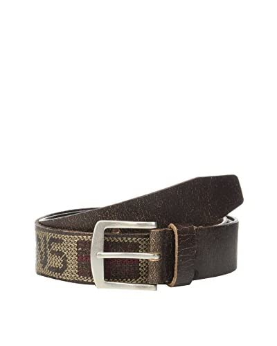 Pepe Jeans London Cinturón Piel Wildway Marrón