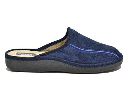 Melluso Ciabatte scarpe uomo blu PU152 43