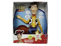 Toy Story Playtime Sheriff Talking Woody English & Spanish Speaking Woody by Thinkway