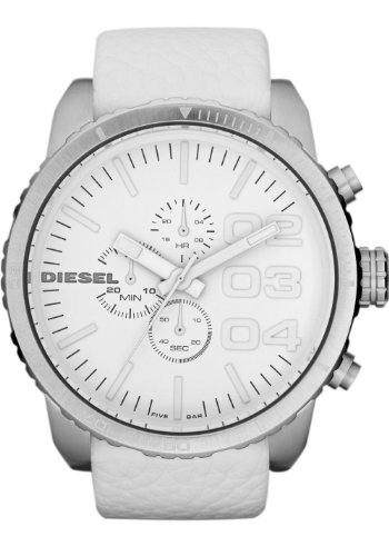 Diesel Chronograph Leather 50M Mens Watch - DZ4240