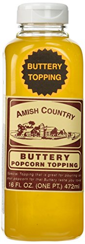 Amish Country Buttery Popcorn Topping 16oz (Amish Popcorn Butter compare prices)