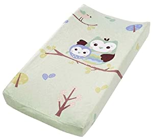 Summer Infant Infant Character Change Pad Cover, Who Loves You Owl