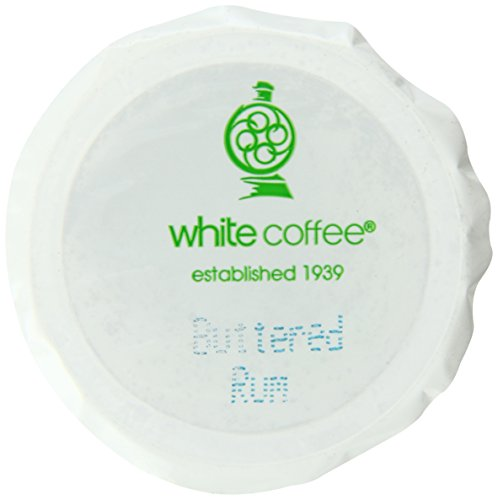 White Coffee Butter Rum Single Serve Coffee, 10 Count (Pack Of 4)