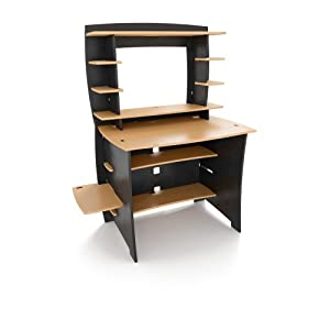 Amazon Com Legare 36 Inch Student Desk With Hutch Wheat