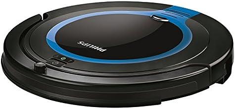 Philips FC8700/01 SmartPro Compact Aspirateur Robot Noir/Bleu