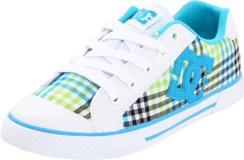 Dc Shoes Women's Chelsea Ladies Shoe Trainers D0300876 Black/White/Soft Lime Kwl 4.5 UK