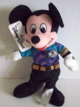 Navigator Mickey Bean Bag Retired by Disney - 1