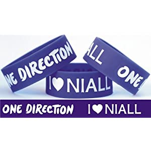 I Love Niall Horan One Direction Band One Inch Wristband