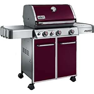 Weber Genesis EP-330 Grill - Crimson Red - 6533301- Propane