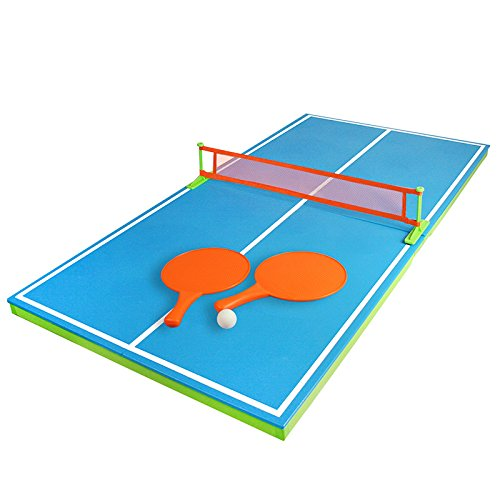 """54"""" Floating Ping-Pong Table Swimming Pool Game - Use In or Out of the Pool"""