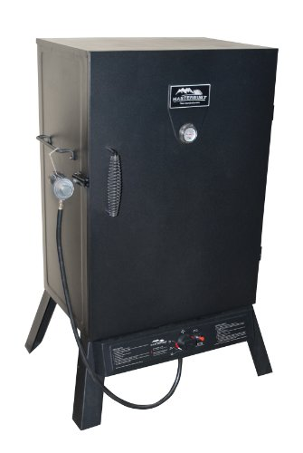 Masterbuilt 20050211 Black Propane Smoker, 40-Inch (Masterbuilt Smoker Pan compare prices)