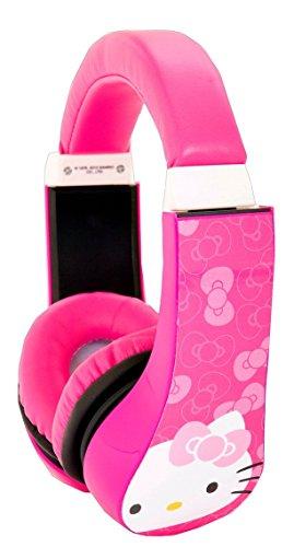 Hello Kitty Kid Safe Over The Ear Headphone W/ Volume Limiter (30309)