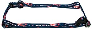 Hunter MFG 5/8-Inch Columbus Blue Jackets Adjustable Harness, Small